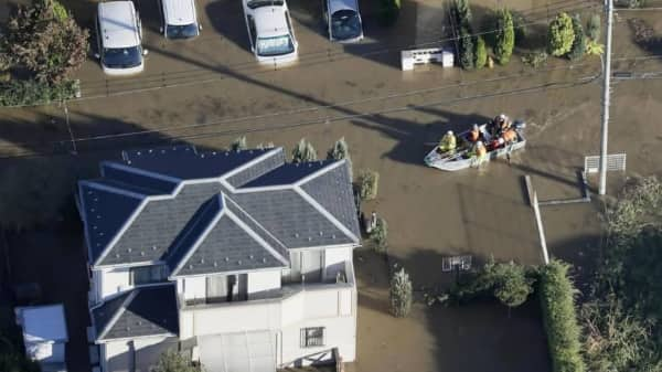 Japan's Typhoon Hagibis death toll rises to 66