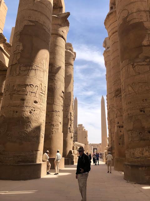 Templo de Karnak. Egipto