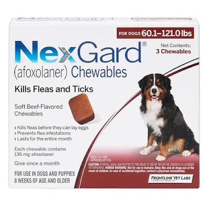 Thuốc trị ve chó dạng viên nhai Nexgard