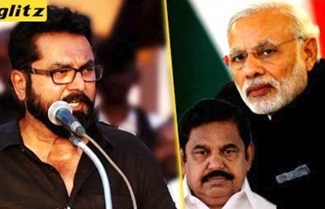 Sarath kumar Protest For Cauvery | Modi | EPS