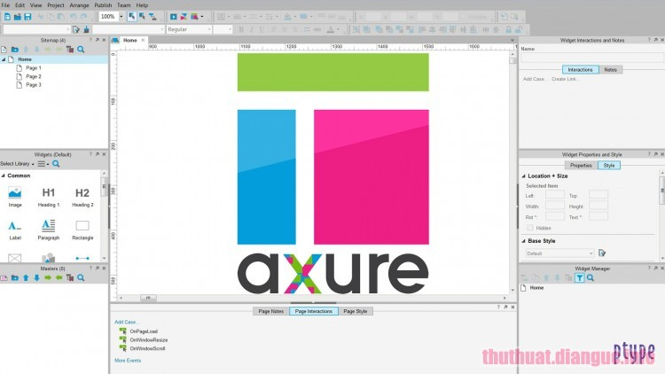 Download Axure RP 9.0.0.3655 Full Crack
