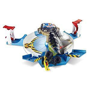 Xe Hotwheels Monster Truck Mecha Shark Face - Off Play Set