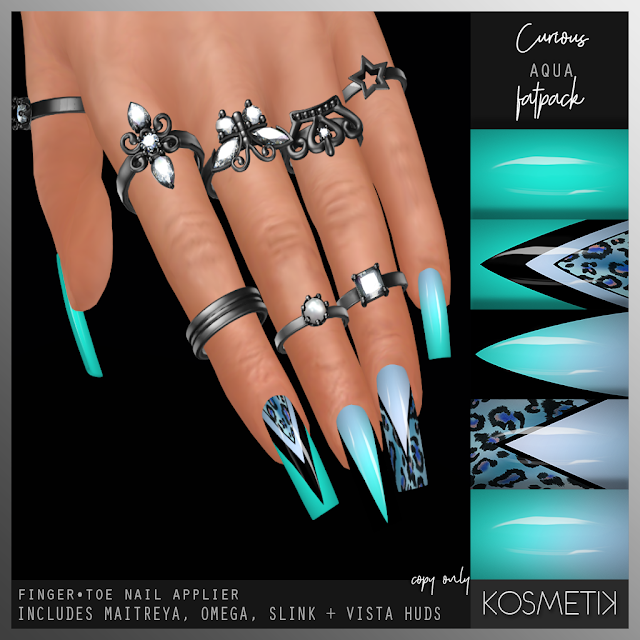KOSMETIK New Release - Curious Aqua Nail Applier