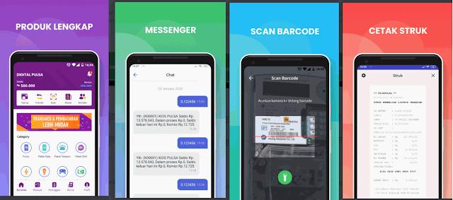 Aplikasi Digital Pulsa Mobile Topup vs Aplikasi Fintech Lainnya