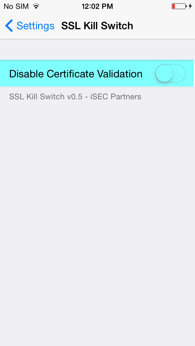 Bypass Ssl Certificate Pinning In Ios