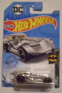 Hot Wheels 2020 Batmobile #3 chrome