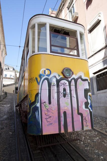 Elevador da Bica-Lisbona