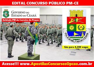 Apostila Concurso PM do Ceará 2016 - Soldado PM Carreira Praças PMCE