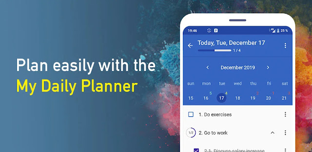 تنزيل My Daily Planner: To Do List, Calendar, Organizer  تطبيق إدارة المهام للاندرويد