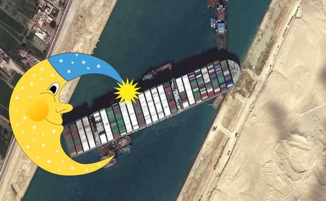 luna, barcos,