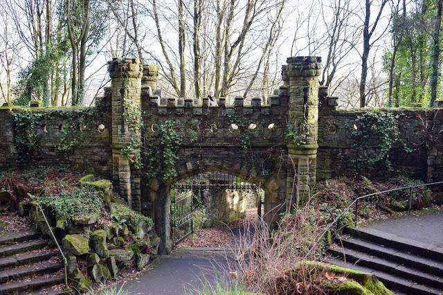 Beaumont Park castle ruins