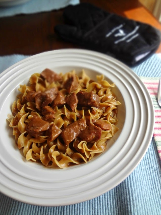 Grandma's Beef Stroganoff-Beef Checkoff #MC #Sponsored