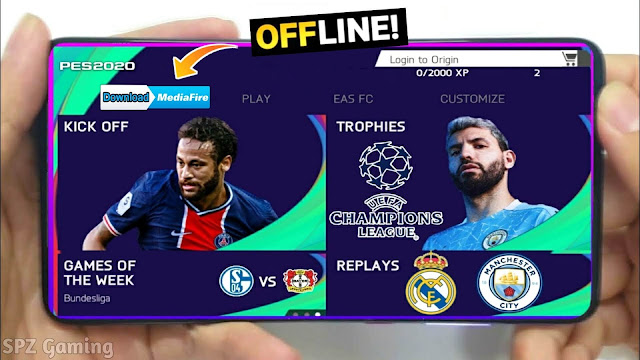 FIFA 21 Mod PES 2021 Android Offline 900MB Best Graphics Real Faces - eFootball PES 2021 Offline