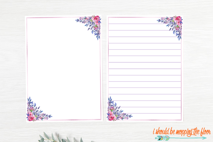 Free Stationery Printables for Summer