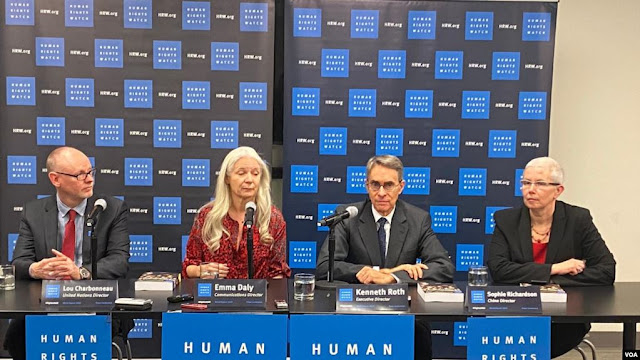 MUNDO:  Migración y ejecuciones extrajudiciales en informe de HRW 2020.
