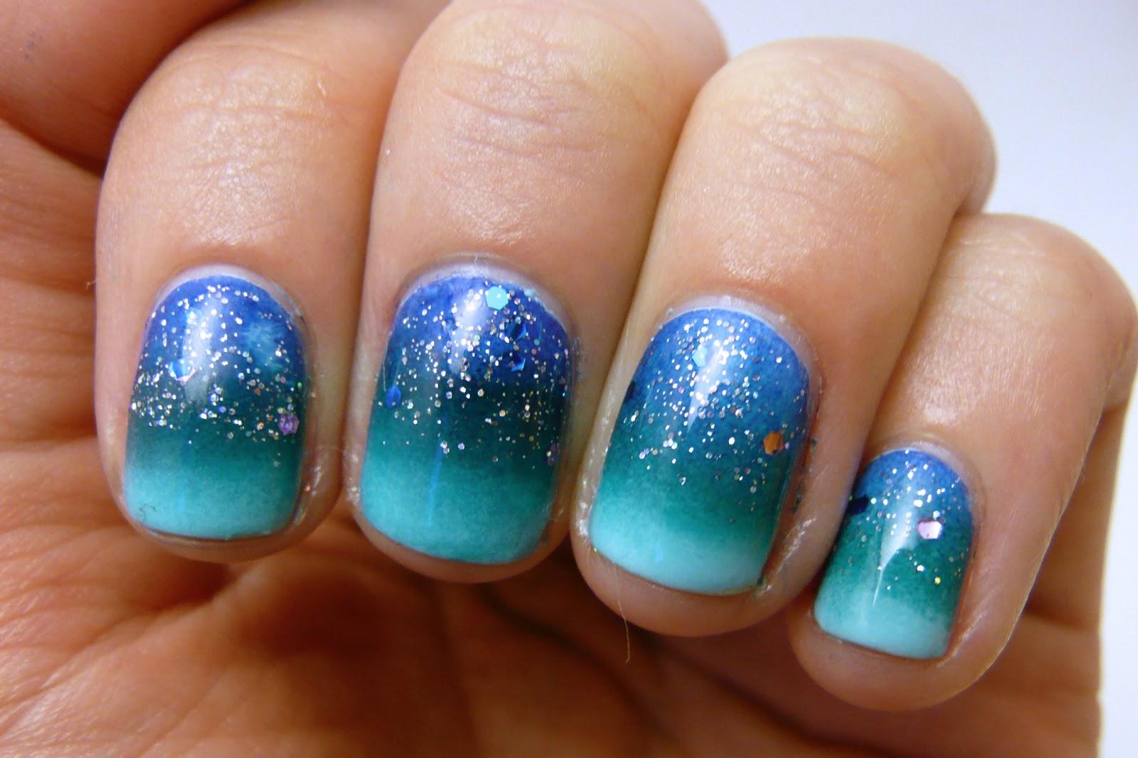 Casa de Polish: Ocean Gradient Nails