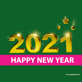 2021 new year greetings