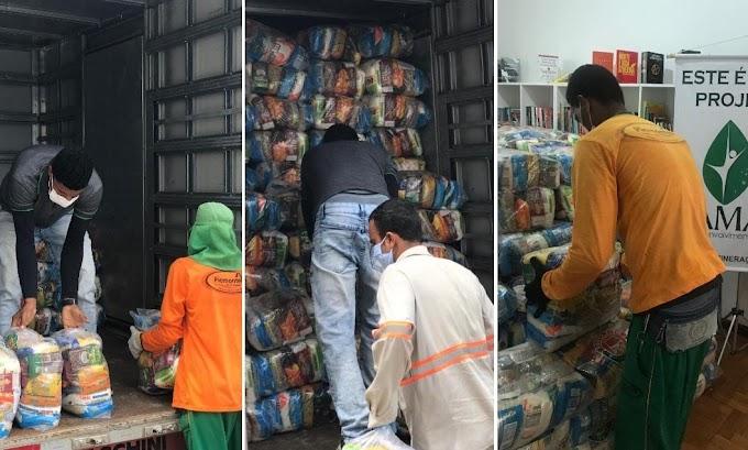 JMC doa mil cestas básicas para a prefeitura distribuir em Jacobina