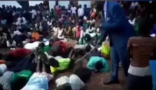 END TIME? Pastor Flogs Church Members For Not Attending Church Service