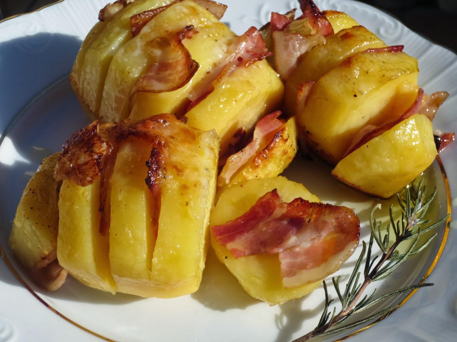 Patatas asadas en abanico Ana Sevilla