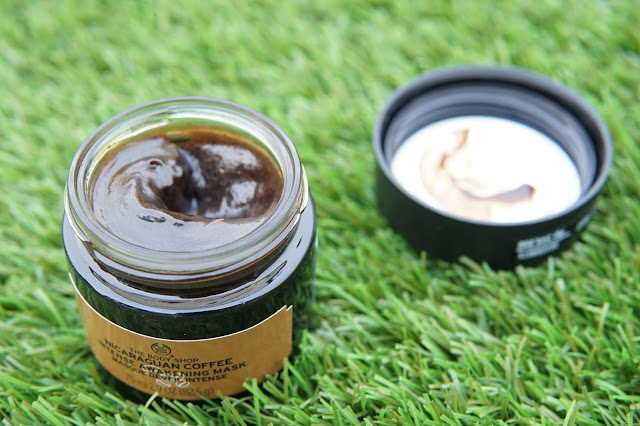 nicaraguan coffee intense awakening mask the body shop