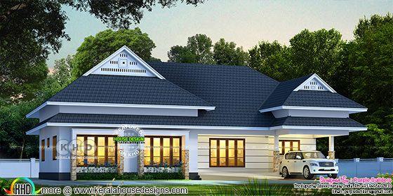 Stunning Kerala bungalow rendering