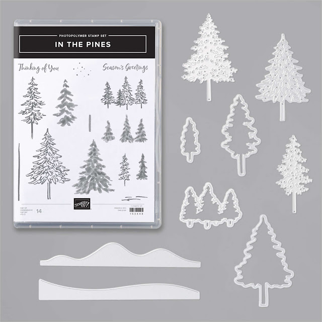 Craftyduckydoodah, In The Pines, Stampin' Up, Christmas 2020,