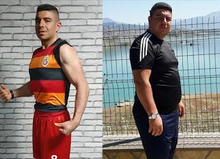 الإرادة الصلبة تمكن مواطنا تركيا من إنقاص 52 كغ من وزنه