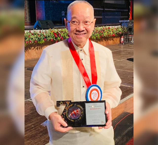 One of the pillars of art and culture in Batangas City passed away