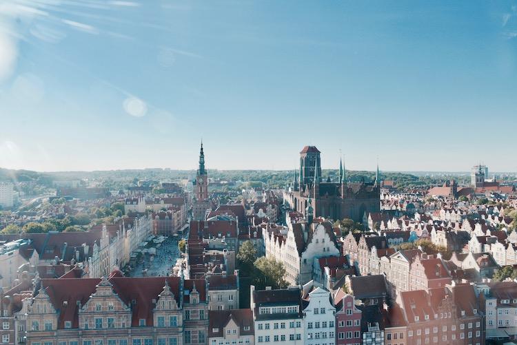 gdańsk ciekawe miejsca, gdańsk punkt widokowy, Gdańsk koło widokowe, gdańsk restauracja, gdańsk umam,