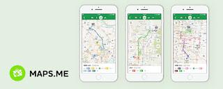 Aplikasi GPS Selain Google Maps