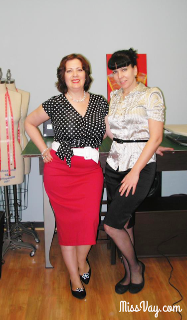 Cours de couture avec Miss Rouge à Lèvres