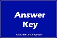 GSSSB Departmental Exam Provisional Answer Key