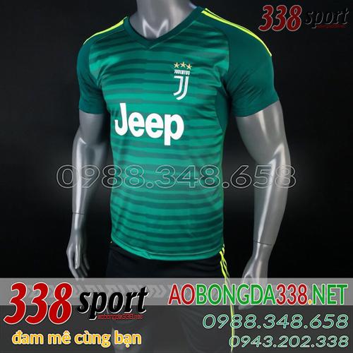 Áo Juventus Xanh Lá mùa giải 2018 2019 Training 3