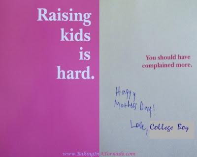 Mother's Day Card | www.BakingInATornado.com | #funny #humor