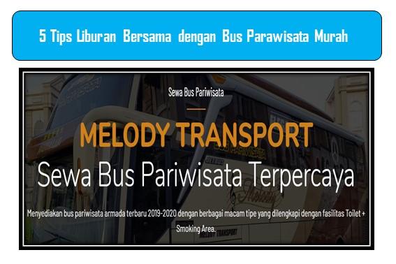 Bus Parawisata Murah