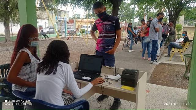 HASTA EL 15 DE JUNIO SERÁ EL REGISTRO ELECTORAL EN CARORA