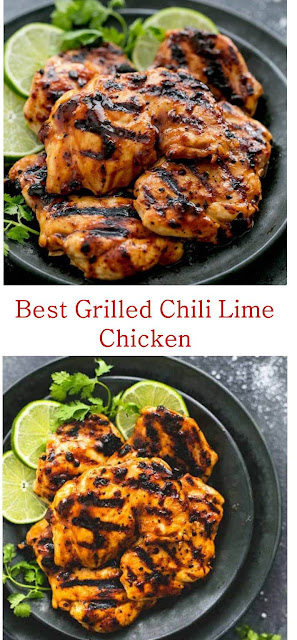 The Best Grilled Chili Lime Chicken Recipe #GrilledChiliLimeChicken #Grilled #ChiliLime #Chicken