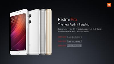 Xiaomi Redmi Pro Price