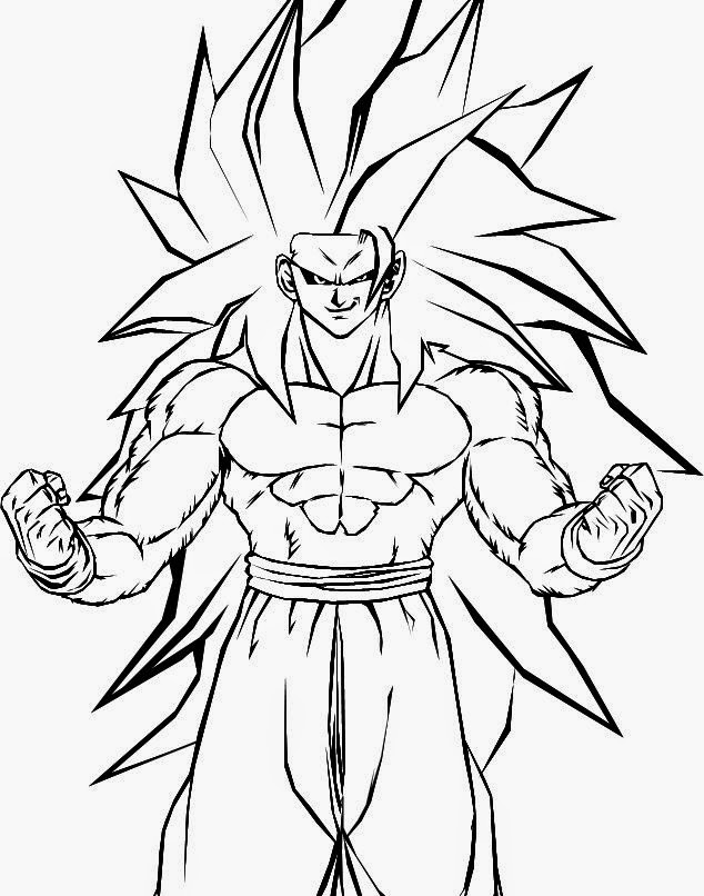 Goku Ssj 10 Para Colorear Colorear Goku A Dragon Ball Z