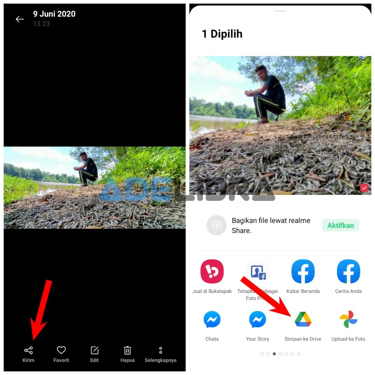 Kirim Foto Lewat Galleri di Google Drive