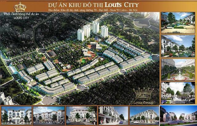 Quy hoạch tổng thể dự án Louis City Đại Mỗ