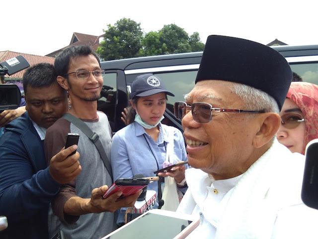 Kampanye Prabowo Diklaim Terbesar, Ma'ruf Amin: Tunggu 13 April
