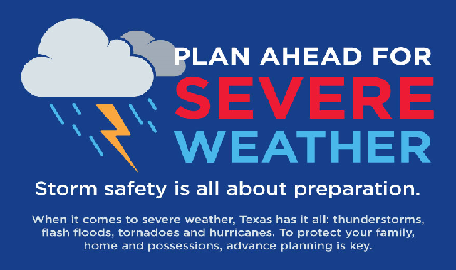 Plan Ahead for Severe Weather #infographic