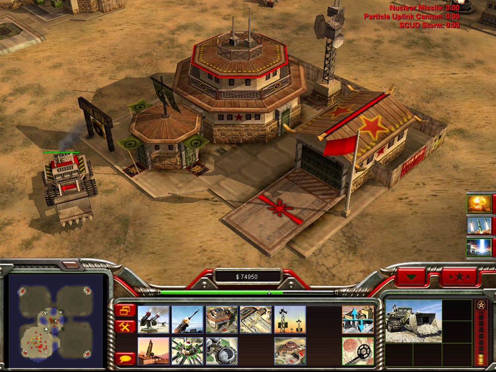 Command & Conquer Generals – Zero Hour ScreenShot 2