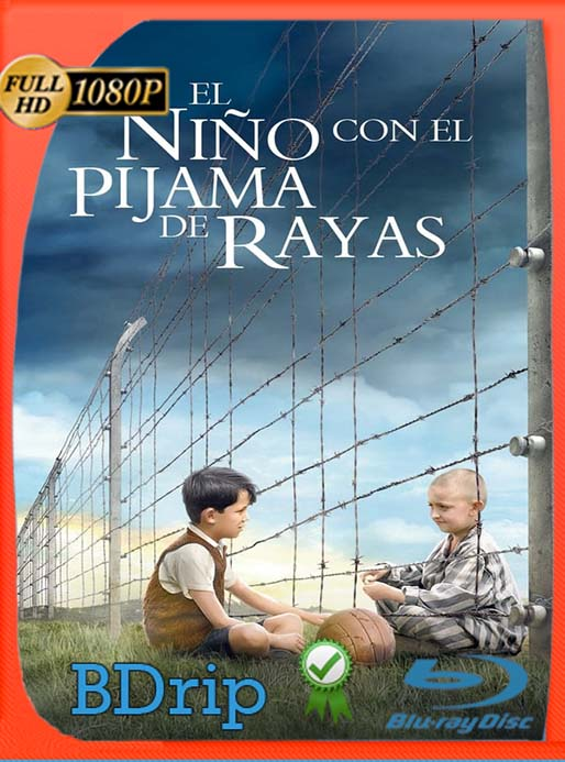 El niño con el pijama de rayas (2008) BDRip Full HD 1080p Latino [GoogleDrive] [tomyly]