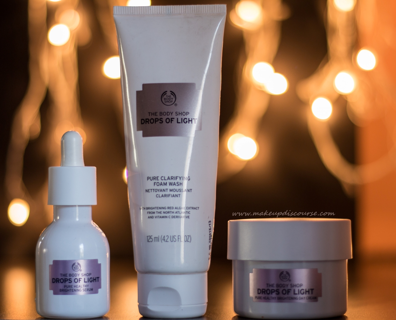 b93473eaa18 The Body Shop Drops of Light Skincare Range Review, Price, Buy online and  Details