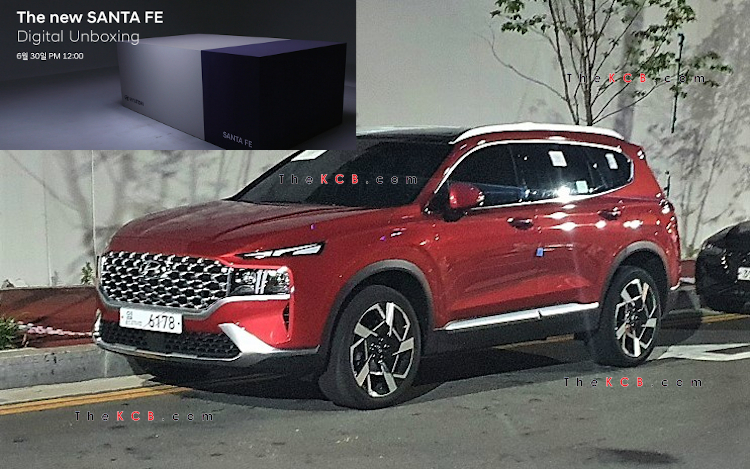 Hyundai chuẩn bị công bố giá bán Santa Fe 2021 - Nỗi lo của Mazda CX-8 và Kia Sorento