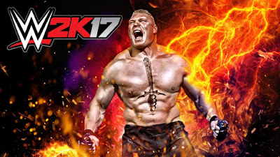 WWE 2K17 Cover Athlete Brock Lesnar