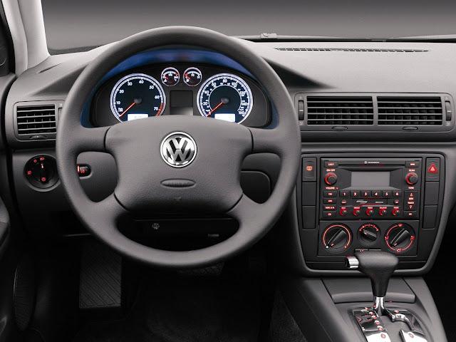 VW Golf e Passat 2003 - recall